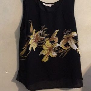 Sleeveless Georgette Rayon Venezia blouse